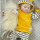 Toddler Kids Baby Boy Winter Warm Clothes Hooded Tops Coat + Pants 2Pcs Outfits