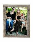 "BarnwoodUSA Reclaimed Wood 1.25"" Wide Rustic Wall Picture Frame, Weathered Gray"