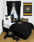 Missouri Tigers Comforter Sham Curtains Valance Twin Full Queen LR