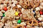 Chocolate Strawberry Granola Crunch, Snack mix, candy, camping, wedding