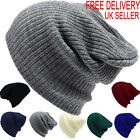 Kyпить Mens Ladies Knitted Woolly Winter Oversized Slouch Beanie Hat Cap skateboard на еВаy.соm