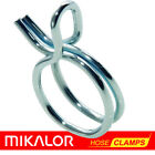 Mikalor Double Wire Hose Spring Clips | Silicone Pipe Air Fuel Band Tube Clamp