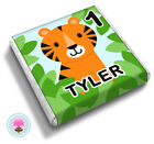 Personalised TIGER Jungle 2nd 3rd 4th Birthday Party Bag  Favour Chocolates