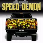 "Skull ""Gold"" Tailgate Truck Wrap Kit Vinyl Graphic Decal Sticker 4x4 Tailgate"
