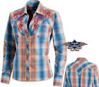"Country Cowboy Western Bluse ""Whitney"" Gr. S - 3XL"