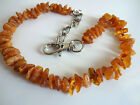 RAW BALTIC AMBER COLLAR FOR DOG , size 7.9-19.7 inch, 20-50cm