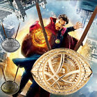 Pendant Necklace Doctor Strange Eye of Agamotto Amulet Men Antique 3 Color