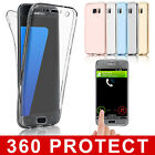 Hybrid Shockproof Rubber TPU Clear Gel Case Cover For Samsung Galaxy S6 S7 Edge