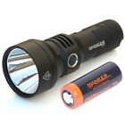 MANKER U21 Thrower 1300LM USB Rechargeable LED Flashlight +5000mAh 26650 Battery