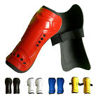 Red Durable New 1 Pair Competition Pro Soccer Shin Guard Shinguard Protector PK