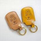 Dextannery 1445 Handmade Leather Smart Key Car Case for Honda Civic
