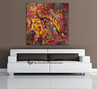 Lion Animal Stretched Canvas Print Framed Wall Art Kids Room Decor Painting Gift