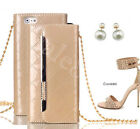 Magnetic Wallet Chain PU Leather Cover Case Purse Handbag For iPhone 6 6S 7 Plus