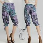 AU SELLER Casual Hippie leisure Short Harem Yoga Beach pants S-XXL p084-14