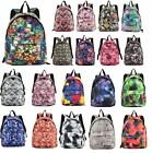 UNISEX NEW OXFORD MULTICOLOUR PRINTED SCHOOL COLLEGE BACKPACK RUCKSACK