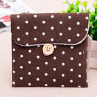 New Girls Bowknot Sanitary Napkins Pads Carrying Easy Bag Small Pouch Case Bag A
