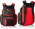 """Puma Equation Gear Backpack 19"""" - Black / Neon Red"""