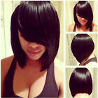 Short Bob wigs For Black Women Jenner Natural Straight Hair Pixie cut synthetic