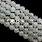 Natural  Prehnite 6-12mm Round Loose Bead 15.5 inch (choose Your Like Size)x2030