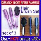 Professional Salon Hair Brush Set Great for Human Hair / Wigs / Extensions