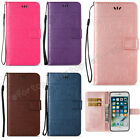 Fashion Flip Patterned Magnetic Kickstand Card Pocket PU Leather Lot Cover Case
