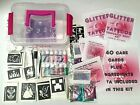 Glitter Tattoo KIT 296 stencils 6 glues 24 glitters boy girl princess superhero