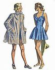 #175 1948 SWIMSUIT AND BEACH COAT PATTERN