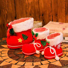 Christmas Santa's Boot Stocking Gift Sack Candy Treat Bag Filler Wall Home Decor