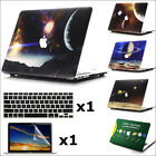 "3item Universe Galaxy Paint Print Hard Case for Retina 12"" Air Pro 11"" 13"" 15"""