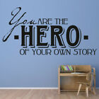 toy story cloud wallpaper - Hero Of Your Own Story Wall Sticker Childrens Wall Decal Boys Bedroom Home Decor