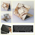 "3in1 White Marble Hard Case Cover Skin for MacBook 12"" Air Pro 11"" 13""15""+Retina"