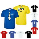 PERSONALISED BOW TIE TOP BOYS SCHOOL 10%TO CHILDREN IN NEED T-SHIRT SPOTTED KIDS
