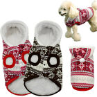 Winter Warm Dog Coats Chihuahua Clothes Pet Puppy Costumes Jackets for Dog XS-XL