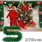 Uk 270cm X 25cm Imperial Pine Christmas Garland Decorations Tree Fireplace Green