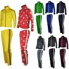 Mens Womens Running jogging Track Suit warm up pants jackets gym training wearHE