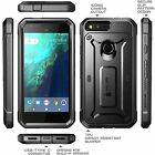 Google Pixel Case Full-body Rugged Holster Case with Built-in Screen Protector