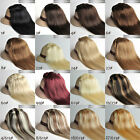 Women's Clip in 100% Real Human Hair Extension Straight 15inch 7Pcs 70g 80g 100g