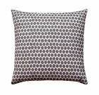 Seeing Spots Graphite Grey Throw Pillow, Polka Dot Pillow, Grey Spotted Pillow