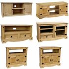 Corona Panama TV Cabinet Media DVD Unit Solid Pine Wood Mexican Rustic Furniture