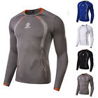 Men's Underwear Boxing Compression Base Layer Tops T-shirt Gym Sports Shirts New