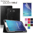 """Premium PU Leather Stand Case Cover For Samsung Galaxy Tab E 8.0"""" 9.6"""" T560 T377"""