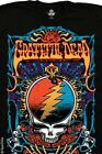 Grateful Dead-GARCIA-STEAL YOUR TRIPPY-100% COTTON BLACK T-SHIRT M-L-XL-2X