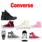 Converse Women Men Unisex All Star High Top Chuck Taylor Trainers postage...