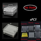 6X Professional Capsule Filling Machine Tool for 100 holes size 00#/4#  Acrylic
