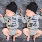 Newborn Toddler Baby Girls Boys Cotton Rompers Jumpsuit Bodysuit Clothes CaF8