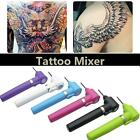 New Electric Tattoo Ink Mixer Pigment Agitator with 5 Sticks Machine Supply Tool
