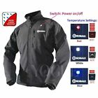 Cordless Battery Heated Jacket Motorcycle Liner HuntingWork Wear 7.4V 4400mAh