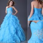 HOT Formal Evening Wedding Dress Cocktail Ball Gown LADIES Party Prom Bridesmaid