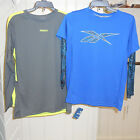 Reebok for Boys Sizes 8 & 10-12 Assorted Play Dry Long Sleeved Athletic Shirt
