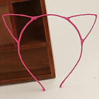 Cat Ears Headband Hair Band Kitty Headewear Makeup Costume Accessories Gift